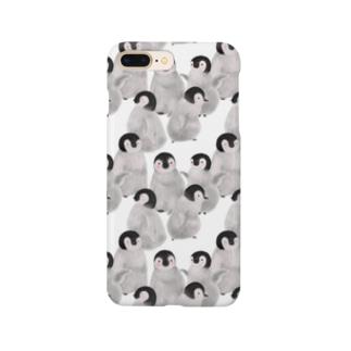 ギュギュっとペンギン赤ちゃん Smartphone cases