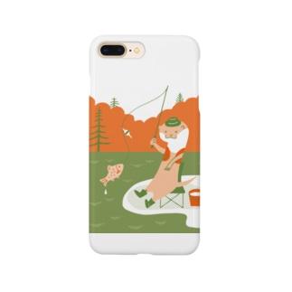 カワウソ釣り日和 Smartphone cases