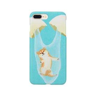 卵から柴犬!? Smartphone cases