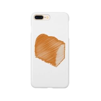 食パンロゴマーク Smartphone cases