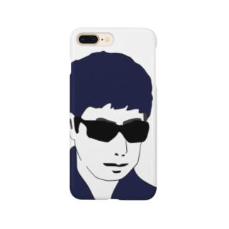 グラサン男 Smartphone cases