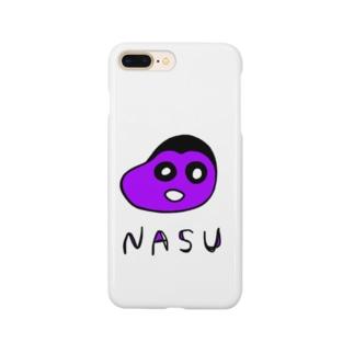 正真正銘のナスちゃん Smartphone cases