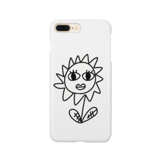 こっち見んなflower Smartphone cases