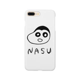 ナスちゃん Smartphone cases