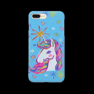 橋本京子のUnicorn5「star」 Smartphone cases