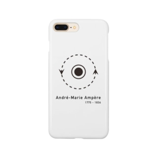 世界の偉人、アンペール Smartphone cases