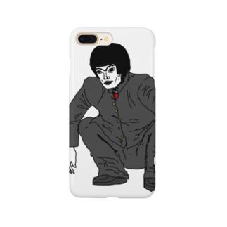 何かが違う不良01 Smartphone cases