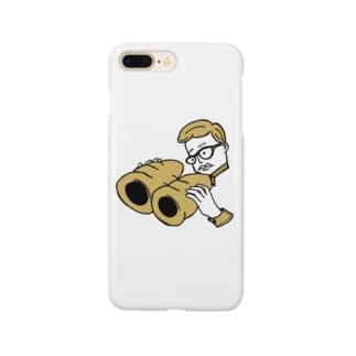 コロネ双眼鏡 Smartphone cases