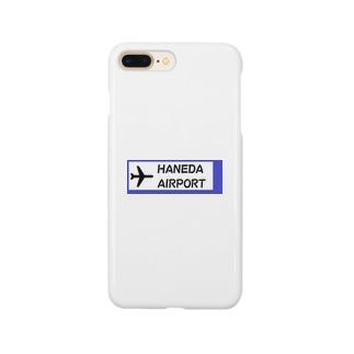 航空 グッズ 羽田空港  Smartphone cases