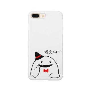 考えるオバケ Smartphone cases