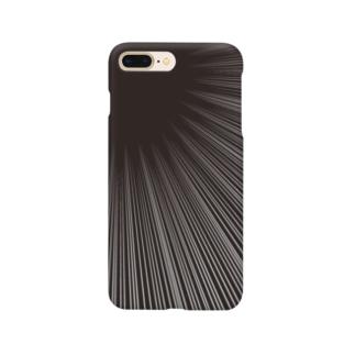 集中線2 Smartphone cases
