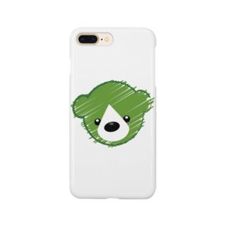 くまさんロゴマーク Smartphone cases
