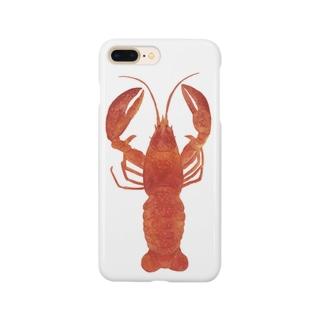 ロブスターくん Smartphone cases