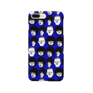 顔集合青 Smartphone cases