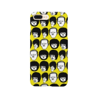 顔集合黄 Smartphone cases