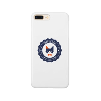 TRAVEL NYA(NAVY) Smartphone cases