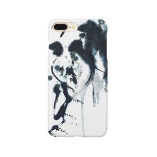 書家・書道家・墨象アーティスト / 市川翠峰のLes Larmes des Anges天使の涙 Smartphone cases