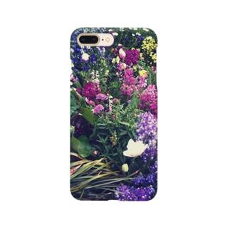オフェーリアの池の傍らに咲く花 スマートフォンケース