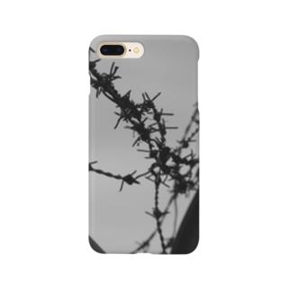 有刺鉄線 Smartphone cases