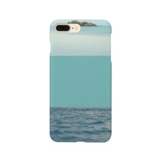 静かな海 Smartphone cases