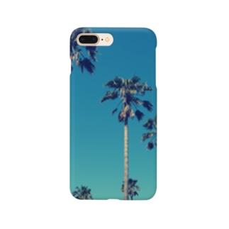アオゾラヤシ Smartphone cases