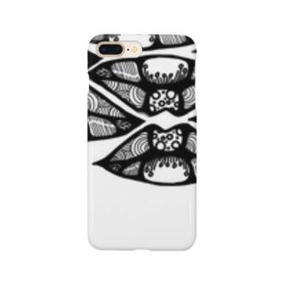 唇だらけ Smartphone cases