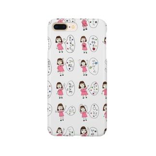 女の子の言葉 Smartphone cases