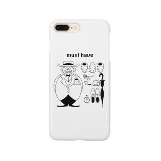 コロネと紳士 Smartphone cases