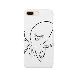 舐め腐ってるタコ Smartphone cases