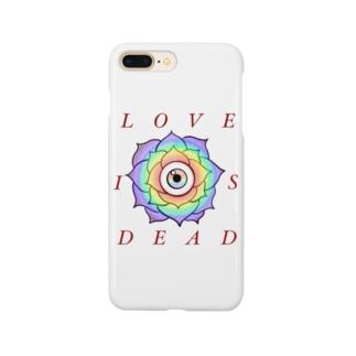 LOVE IS DEAD スマートフォンケース