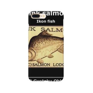 カラフトマス!(樺太鱒;PINK SALMON)生命たちへ感謝を捧げます。※価格は予告なく改定される場合がございます。 Smartphone cases