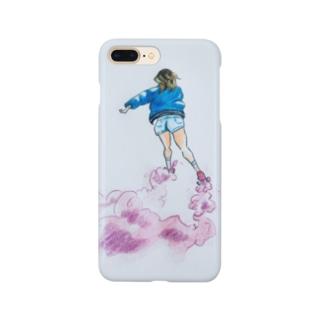 Skating Girl Smartphone cases