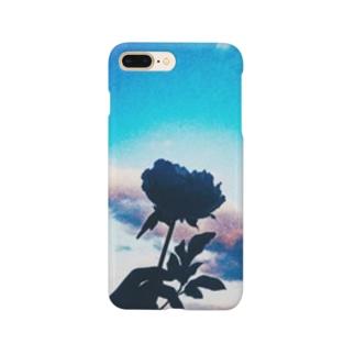蒼き青 Smartphone cases