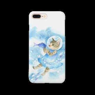 Rosemary*Teaの水中遊泳 Smartphone cases