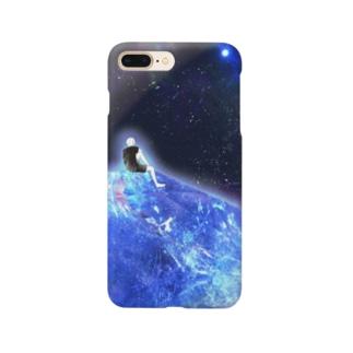 青い星の記憶 スマートフォンケース