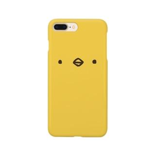 ひよこさん(顔) Smartphone cases