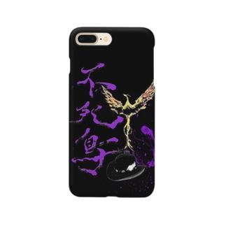 不死鳥 -フェニックス Smartphone cases