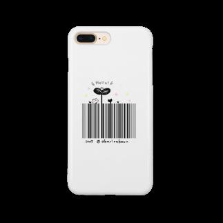 灯さかすのHello!バーコード Smartphone cases