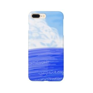 夏空と海 Smartphone cases