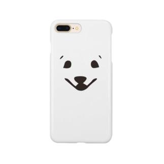 しらたまふぇいす Smartphone cases