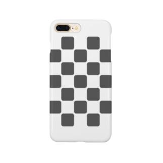 変わり市松 Smartphone cases