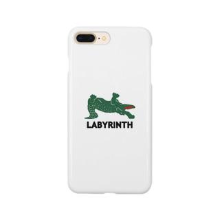 ラビリンス(迷いワニ) Smartphone cases