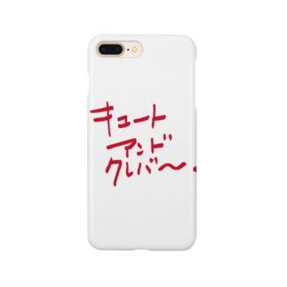 キュートアンドクレバー 赤 Smartphone cases