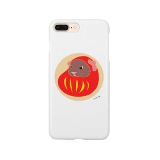 モル達磨 Smartphone cases