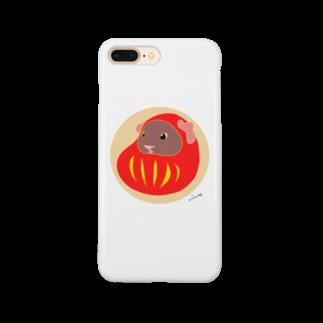 nins・にんずのモル達磨 Smartphone cases