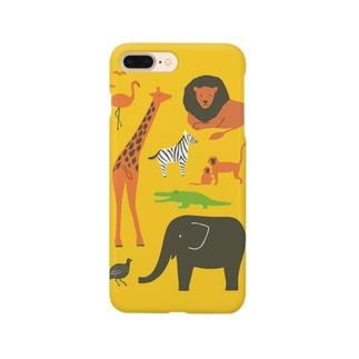 サバンナ Smartphone cases