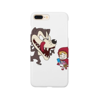 歩きスマホ赤ずきん Smartphone cases
