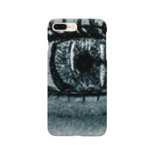 綺麗な右目 Smartphone cases