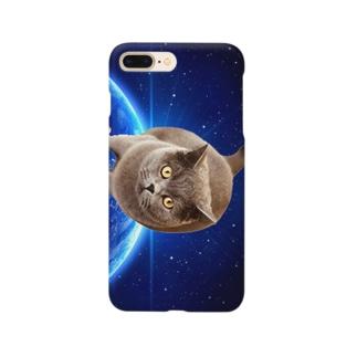 宇宙猫ケース スマートフォンケース