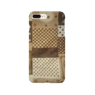 カラフル水玉、色んなハート Smartphone cases